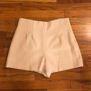 Zara high rise shorts